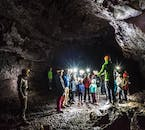 Caving guides in Iceland are experts on the country's geology.