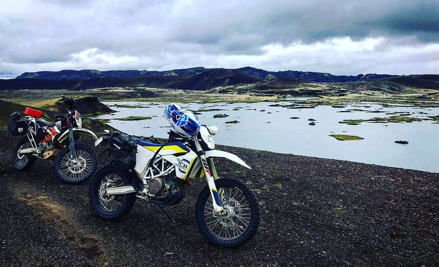 Iceland has some truly staggering scenery, perfect for passing by on the motorbike.