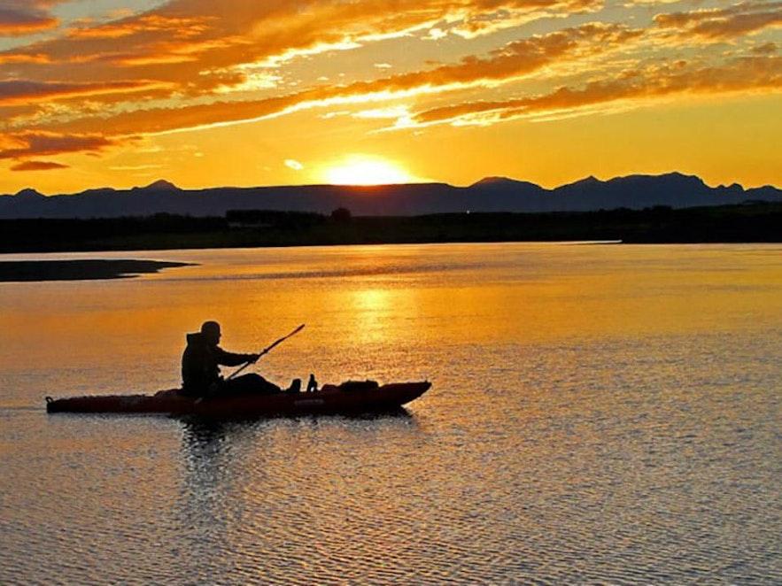 冰島夏季極晝特色斯奈山半島活動