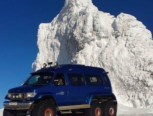 Sortie Super Jeep au Eyjafjallajökull