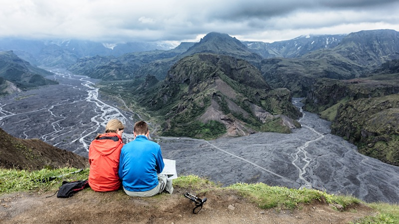 Dagstur i superjeep til Þórsmörk-dalen
