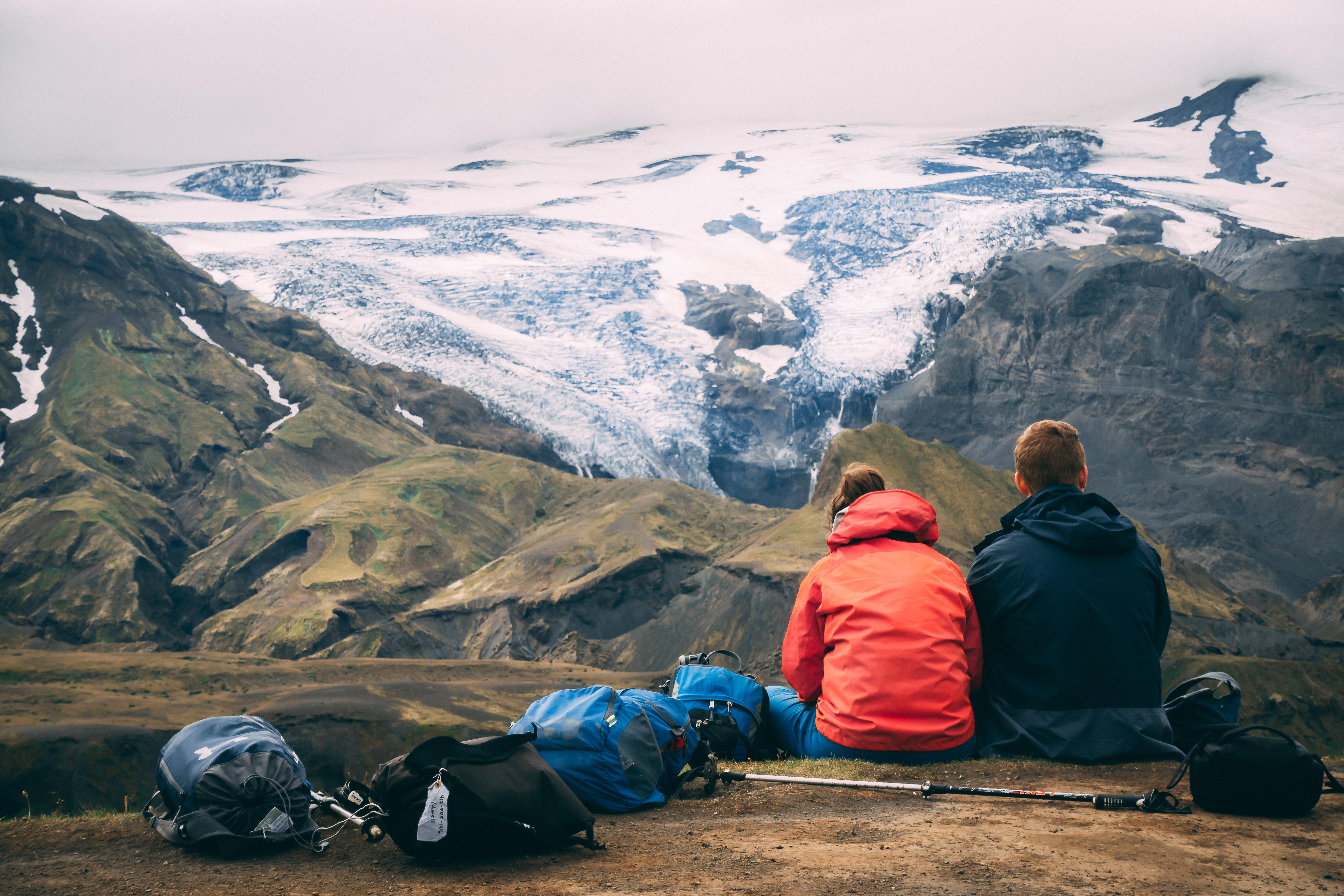 Dagstur med superjeep till dalen Þórsmörk