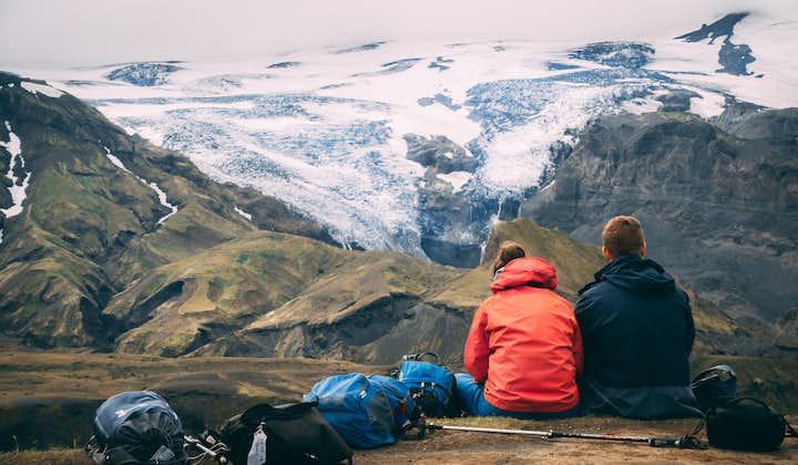 Dagtocht met superjeep naar de vallei Þórsmörk