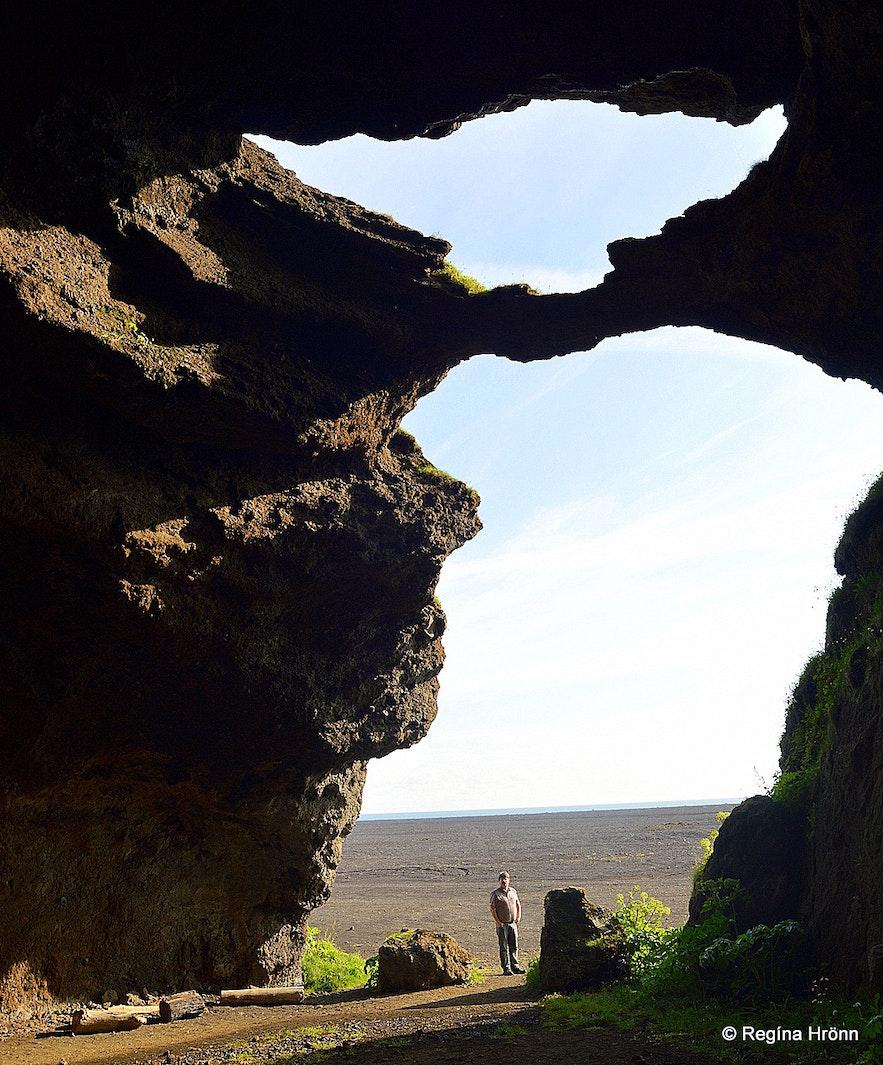 Gýgjagjá - the Yoda Cave by Hjörleifshöfði