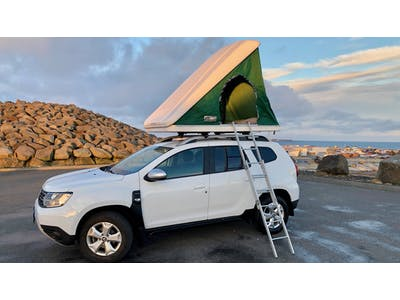 Dacia Duster 4x4 + tente de toit 2019