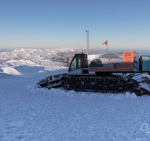 Tour auf den Snaefellsjökull-Gletscher | Abenteuer mit der Pistenraupe