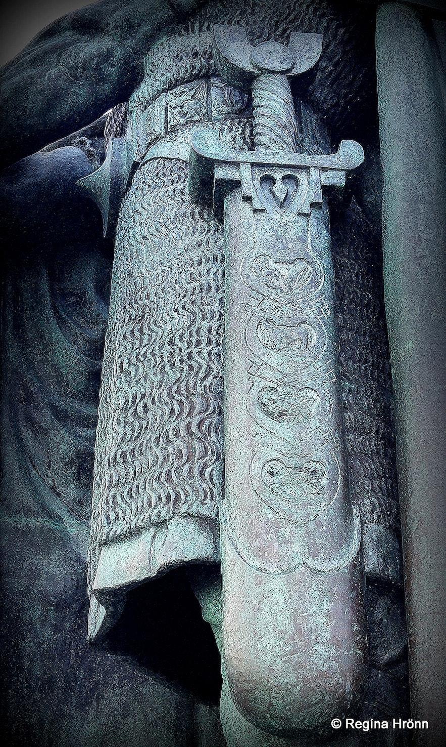 The statue of Þorfinnur karlsefni in Reykjavík