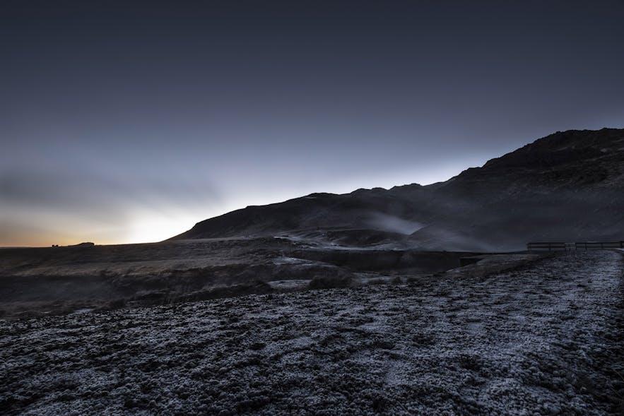 Geothermalgebiet Seltun