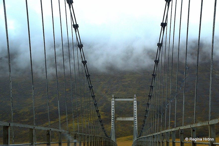 Aldeyjarfoss Waterfall in North-Iceland in extraordinary Basalt Column Settings