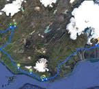 Laguna Glaciale - Grotta di Ghiaccio - Circolo d'Oro - Trekking sul Ghiacciaio   3 Giorni