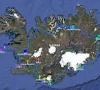 8-дневний зимний тур   По Кольцевой дороге Исландии на микроавтобусе