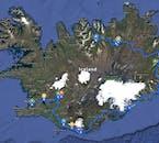 Voyage accompagné de 6 jours   Visite du Sud, de l'Est et du Nord de l'Islande