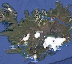 レイキャビクからアークレイリまでリングロードを走り、道中では南海岸、ミーヴァトン湖、東フィヨルドも訪れます。