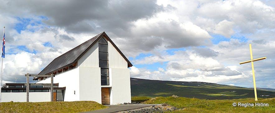 Þorgeirskirkja church North-Iceland