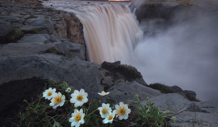 The majestic Dettifoss waterfall northeast Iceland.