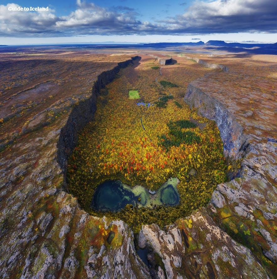 Es posible llegar al norte de Islandia si pasas cinco días en el país.