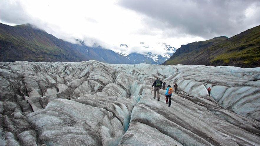 冰島斯卡夫塔山冰川健行團推薦