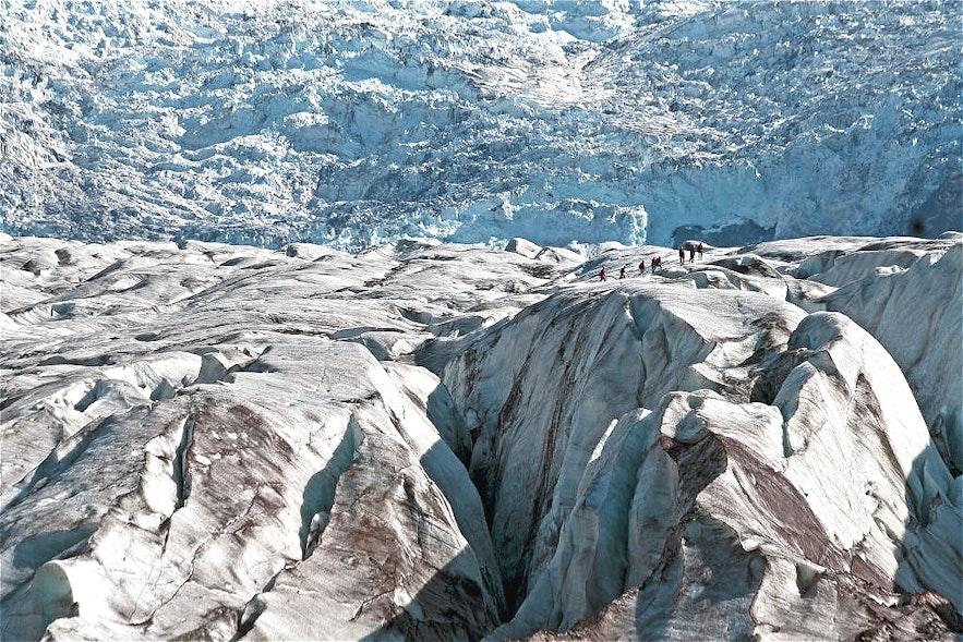 斯卡夫塔山冰川徒步旅行團推介