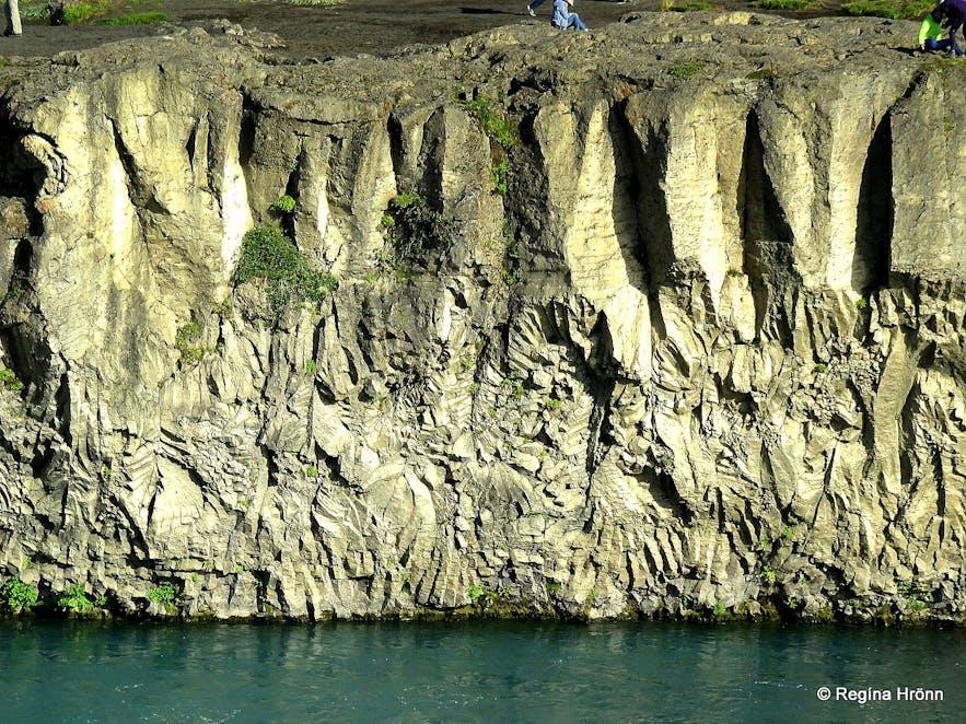 The Historical Goðafoss Waterfall in Skjálfandafljót River in North-Iceland