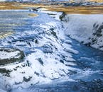 This is only one tier of the magnificent Gullfoss waterfall.
