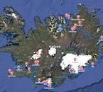 ร่วมรับประสบการณ์ในช่วงฤดูหนาวและชมเส้นทางวงกลมทองคำ, เส้นทางชายฝั่งทางใต้และทางเหนือของประเทศไอซ์แลนด์ที่ถูกปกคลุมไปด้วยหิมะ.