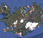 Experience Iceland in Winter and see the Golden Circle, the South Coast and the North of Iceland all covered in snow.