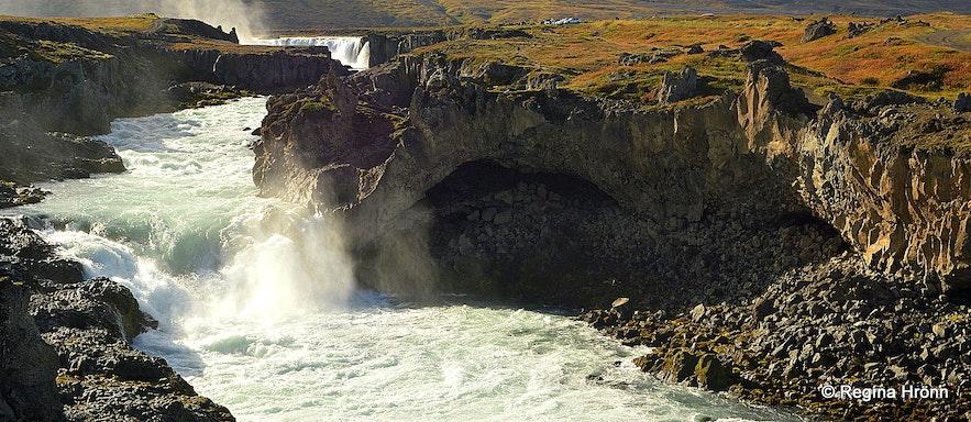 Geitafoss waterfall