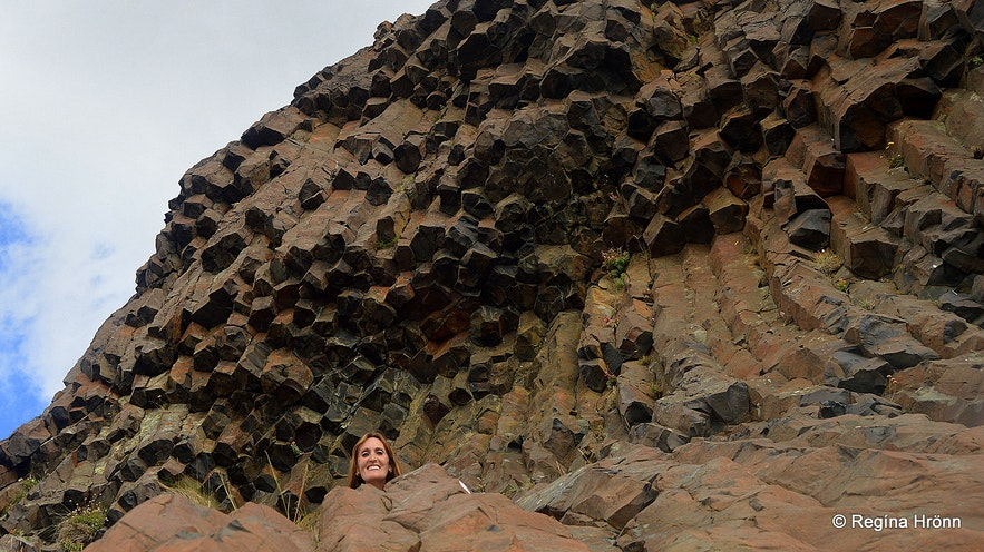 Regína by Bjartmarssteinn Rock in Iceland