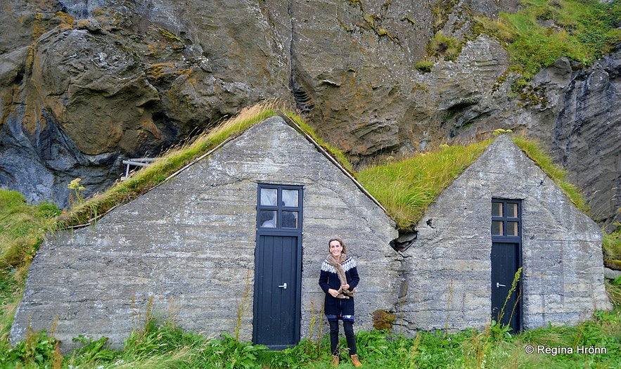 Regína by Drangurinn in Drangshlíð and the Elves in South-Iceland - Icelandic Folklore