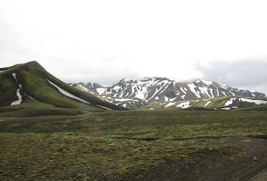 Icelandic Highlands in the Winter   Super Jeep Tour to Landmannalaugar
