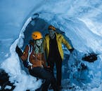 The crystal glacier caves are magnificent places to explore during Iceland's winter.