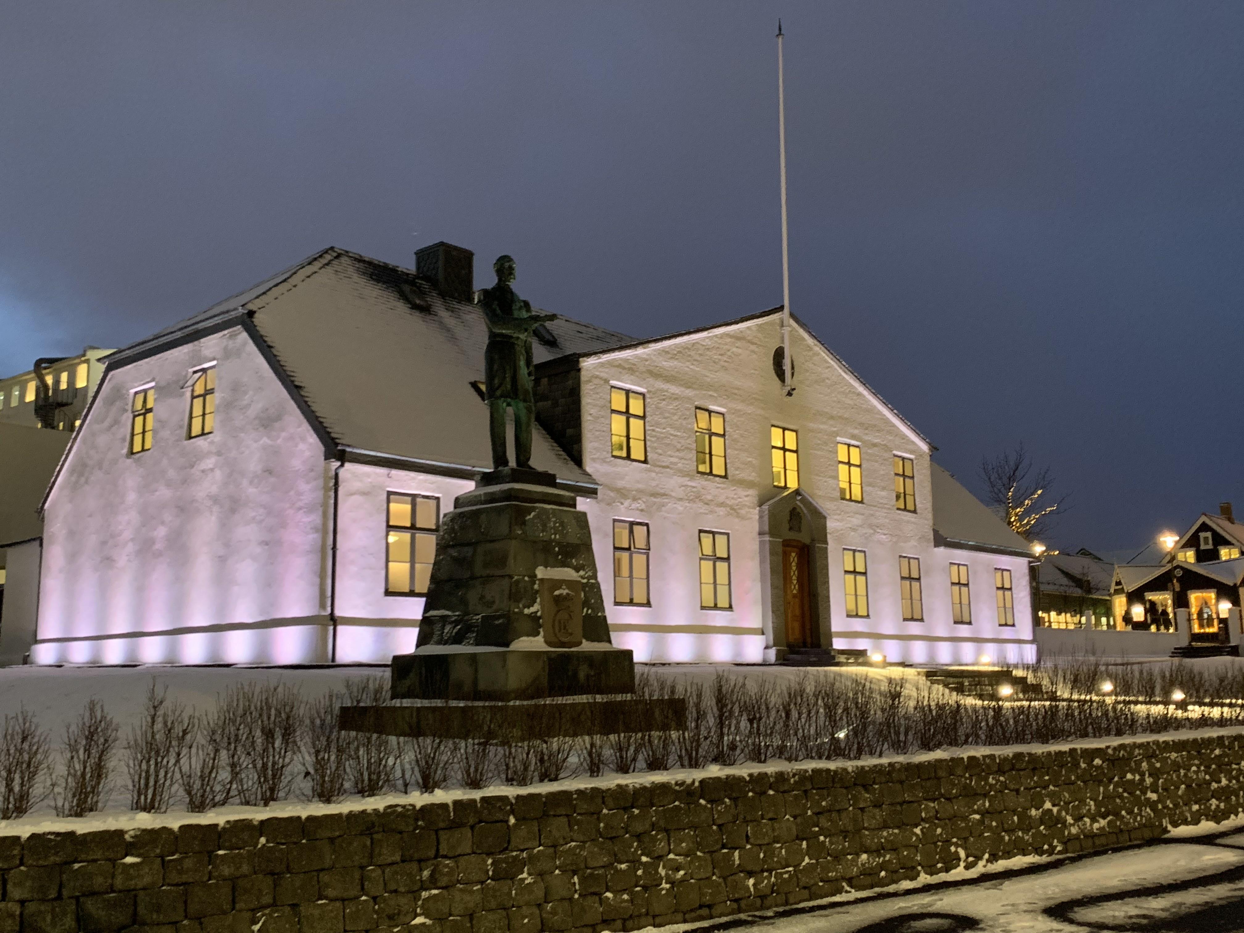 Reykjavík is the capital city of Iceland.