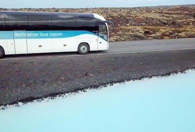 Transfert retour simple   Du Blue Lagoon vers Reykjavik