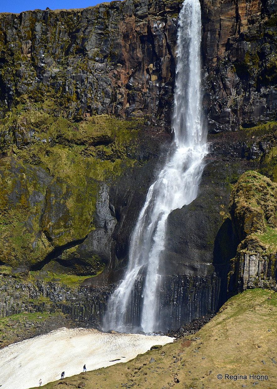 Bjarnarfoss waterfall Snæfellsnes