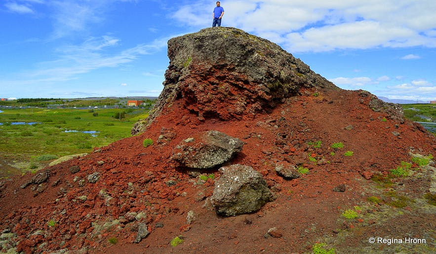 The mystical Rauðhólar Pseudocraters & Tröllabörn - the Troll Children in SW-Iceland