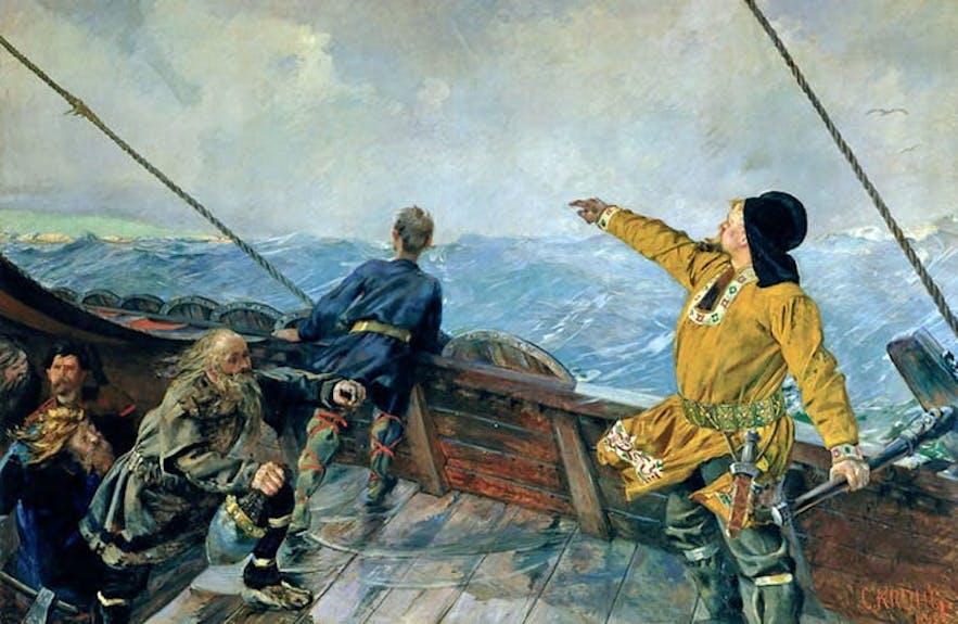 Leifur 'The Lucky' Eiríksson.