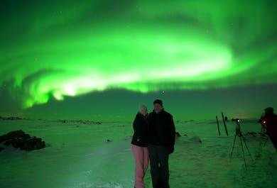 За северным сиянием на супер-джипах | Тур с фотографом