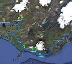 格安セルフドライブプラン6日間 |ヨークルスアゥルロゥン氷河湖へ