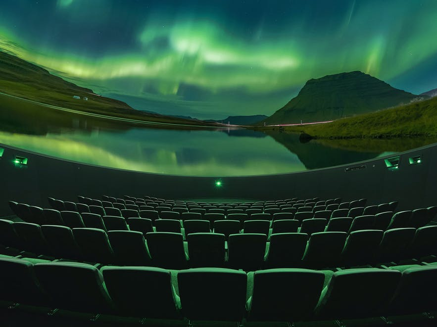 Áróra is an interactive planetarium film in Perlan in Iceland, and the only one in the world.