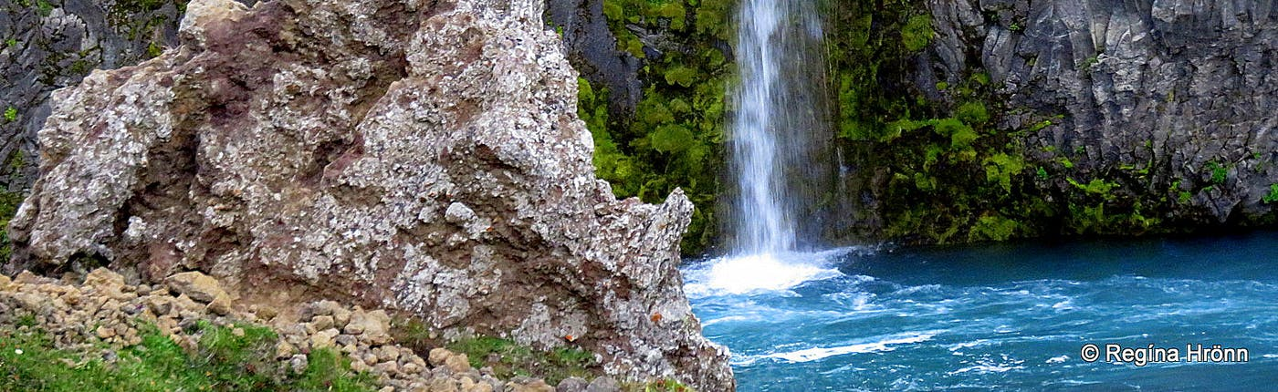 Grettir the Strong and the Troll in the Waterfall - a Viking Saga from North-Iceland
