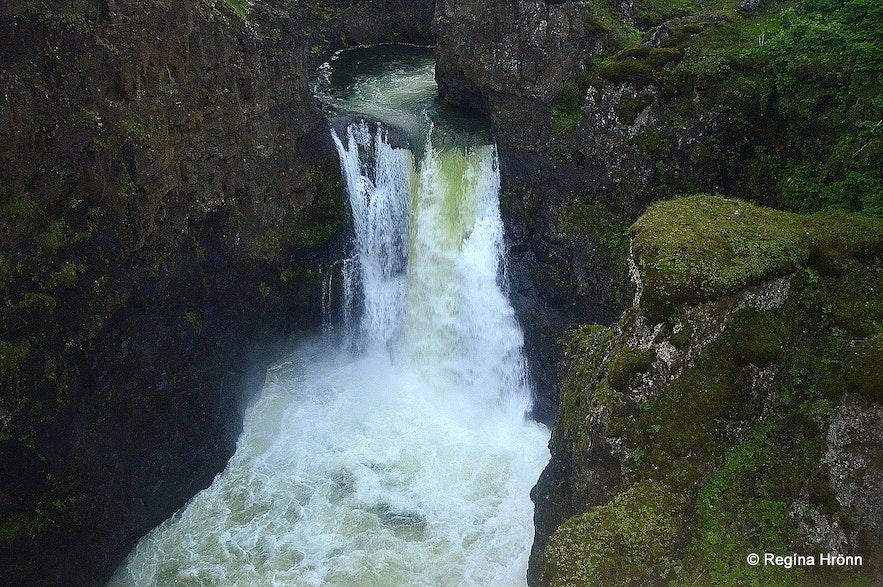 Kolufossar waterfalls