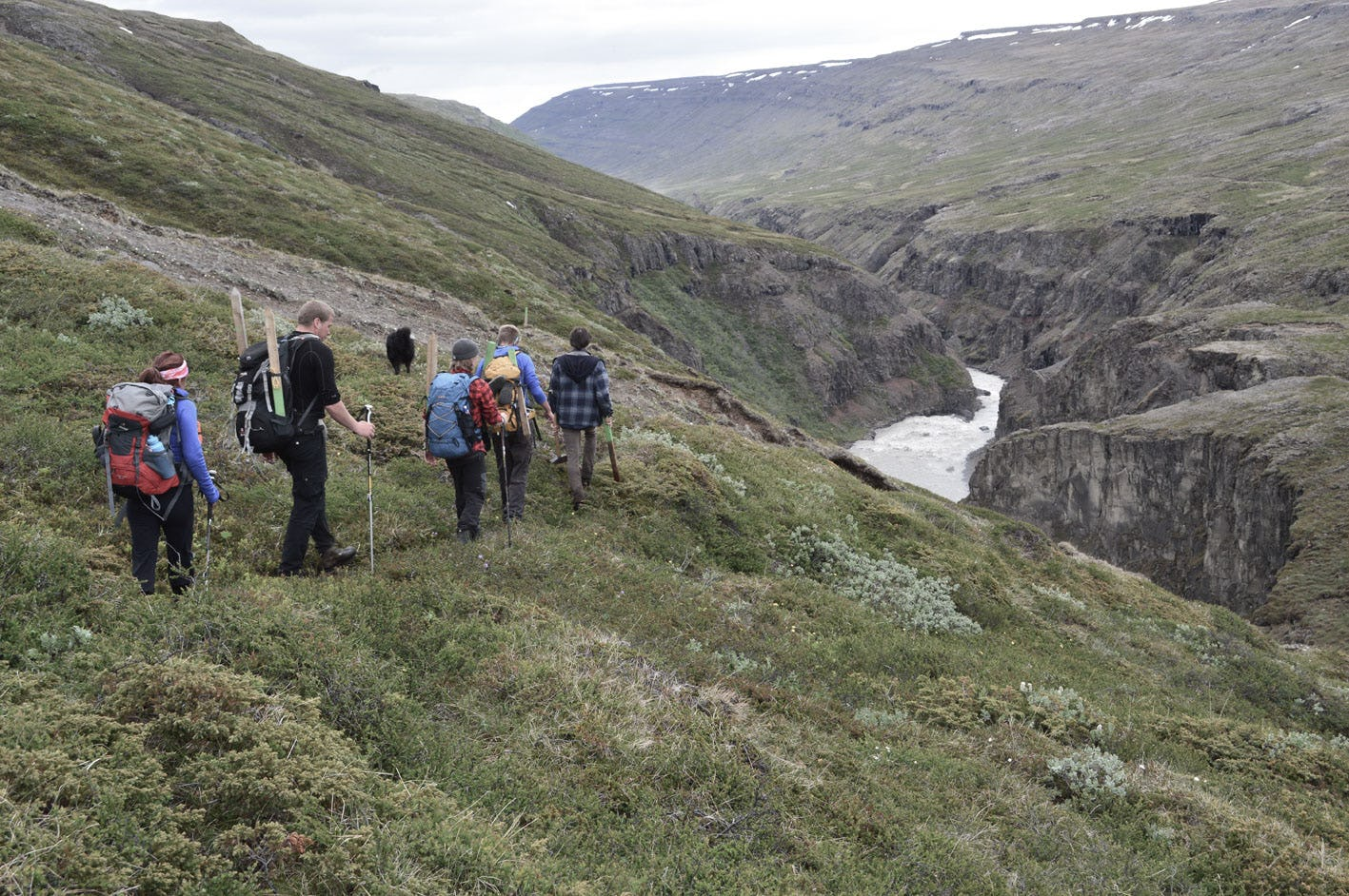 Spend a day in East Iceland hiking along Jökulsá river.
