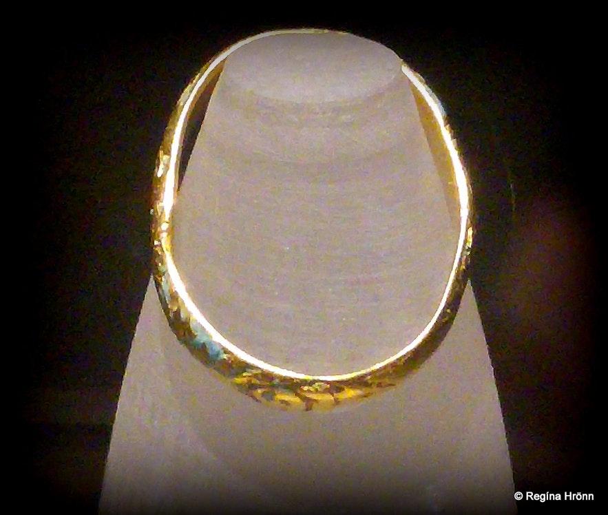 A ring found at Skriðuklaustur