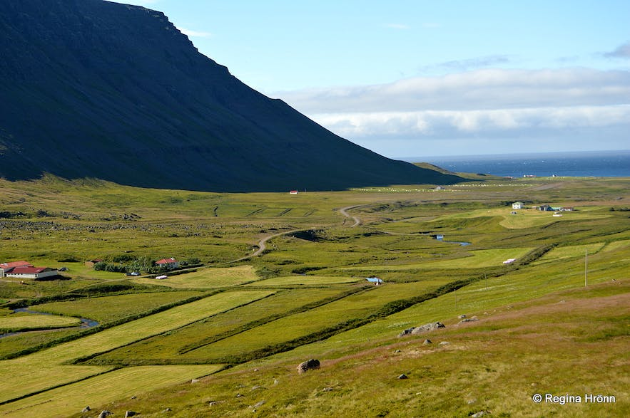 Ingjaldssandur in the Westfjords of Iceland - my Grandmother's Birthplace