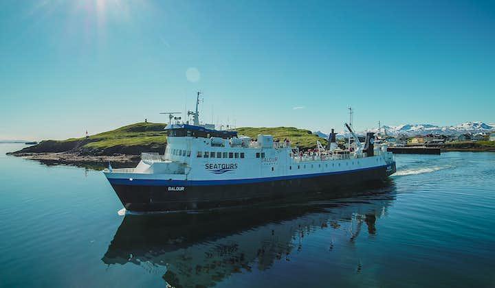 2,5-godzinny prom Baldur z półwyspu Snaefellsnes na Fiordy Zachodnie przez wyspę Flatey