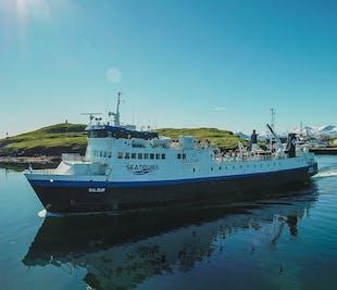 Ferry Baldur depuis Snaefellsnes vers les Fjords de l'Ouest | Via Flatey