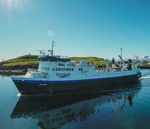 Prom na Fiordy Zachodnie | Ze Stykkisholmur przez wyspę Flatey