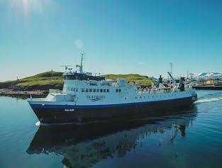 Baldur Ferry from the Snaefellsnes Peninsula to the Westfjords | Via Flatey Island
