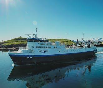 Baldur Ferry from the Snaefellsnes Peninsula to the Westfjords   Via Flatey Island