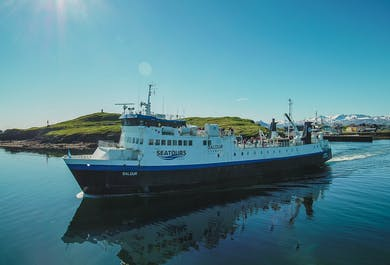Baldur Ferry from the Snaefellsnes Peninsula to the Westfjords | Via Flatey Island